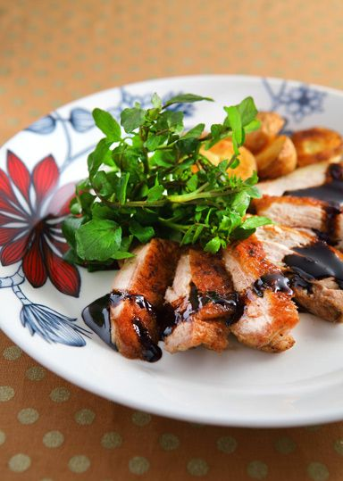チキンのバルサミコソテー ローズマリー風味 のレシピ・作り方 │ABCクッキングスタジオのレシピ   料理教室・スクールならABCクッキングスタジオ