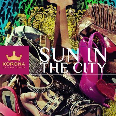 Sun in the city!  http://www.galeria-korona.pl/