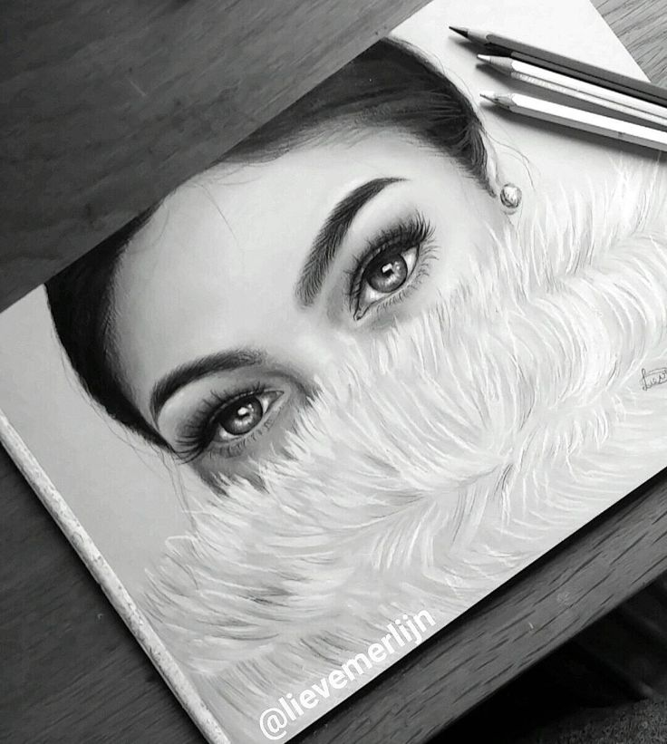 Good morninggg  Here's a new drawing, it is actually in color! So expect a colored version of it soon!  __ #worldofartists #art_collective #artsanity #art #draw #drawing #fur #eyes #lashes #bigeyes #makeup #make-up #eyebrows #drawingwithmakeup #pencils #coloredpencil #pastel #blackandwhite #graphite