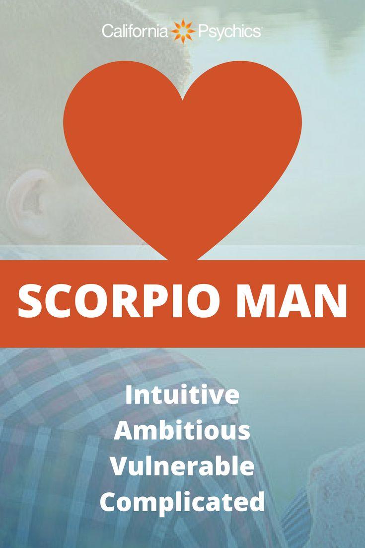 Traits of the Scorpio Man
