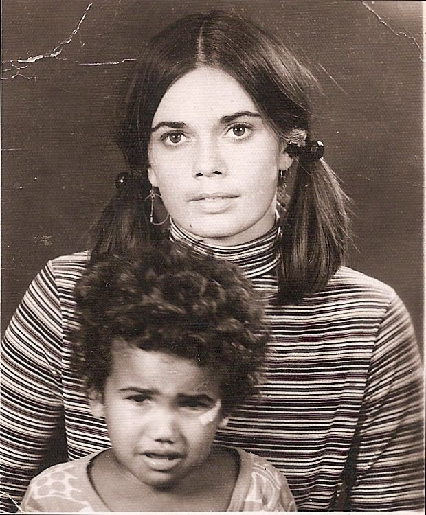 Images of Shemar Moore Parents   Old Portrait of toddler Shemar Moore and his mother   Shemar Moore's ...