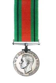 The Defence Medal obverse view