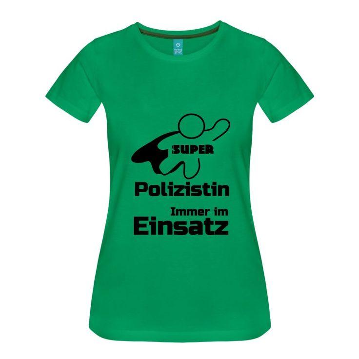 Super Polizistin - tolle Shirts und Geschenke für heldenhafte Polizistinnen. #super #held #helden #polizei #polizist #heldin #polizistin #polizisten  #sprüche #shirts #geschenke #berufe