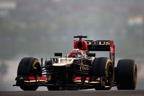 Kimi Raikkonen - F1 Grand Prix of India: Practice
