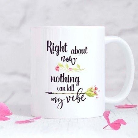 Nothing can kill my vibe ❤️🙌🏻 #skoktepo #motivacni #hrnky #love #lovemylife #lovemyself #coffee #cups #mugs #porcelain #inspiration #vibes #positiveenergy #yoga #designmarket #czechgirl #czechboy #czech #prague