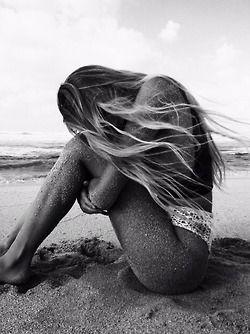 // neat sand tuck, at beach