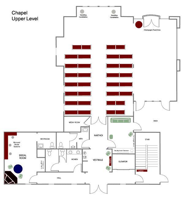 Hermann Hill Chapel Floor Plan Missouri Wedding Venues