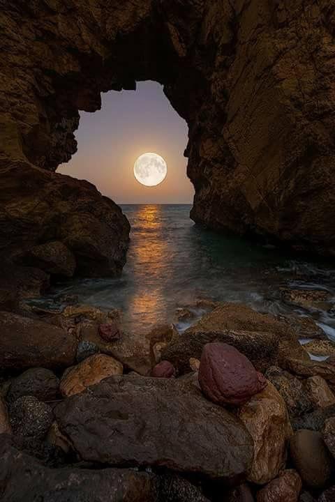 Bella luna!
