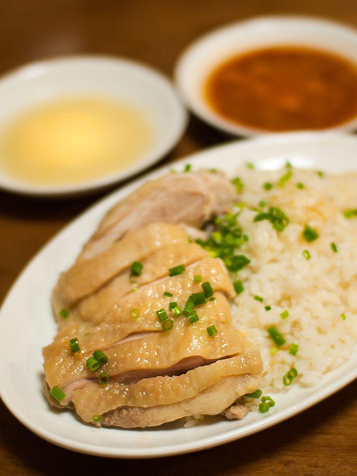 チキンライス3品:海南チキンライス