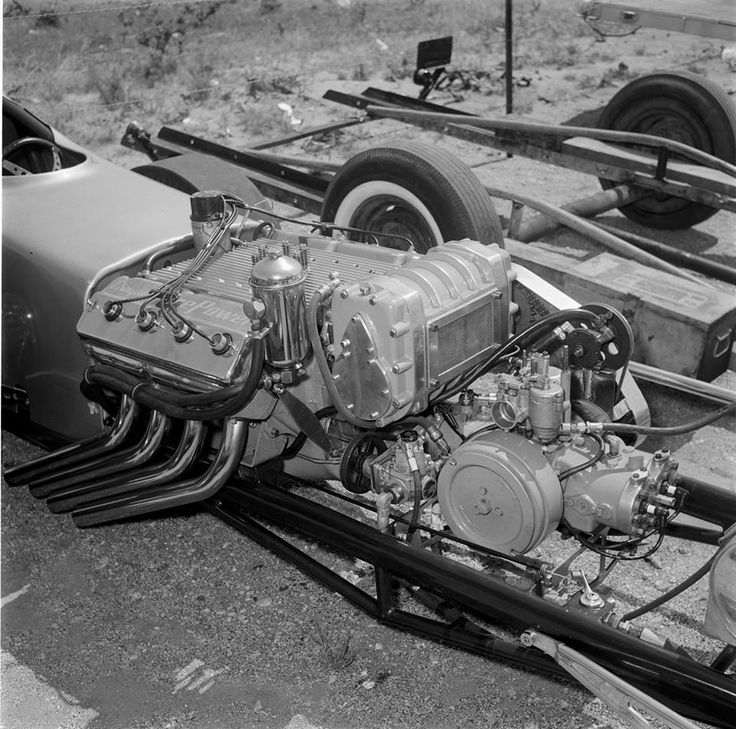 Back in the old days drag cars sometimes used small Boxer engines to ...