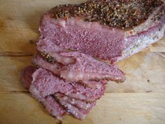 Tender Corned Beef Brisket baked in oven