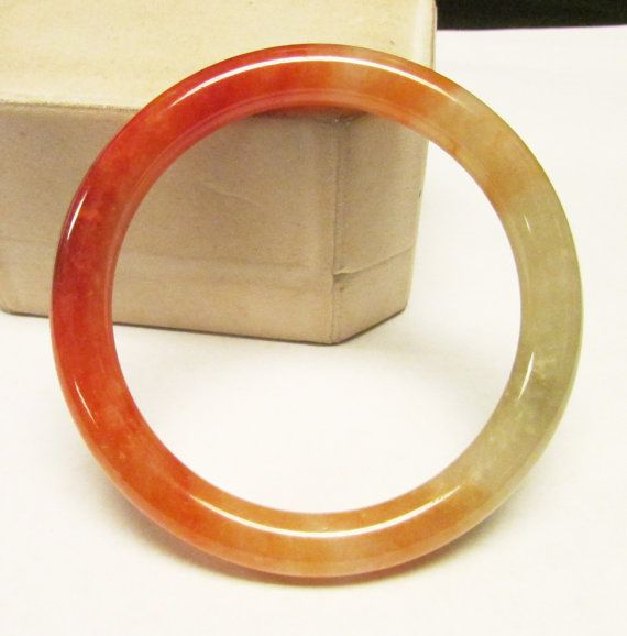 Genuine Red Jade Bangle Bracelet 7cm He9n5KcNc6