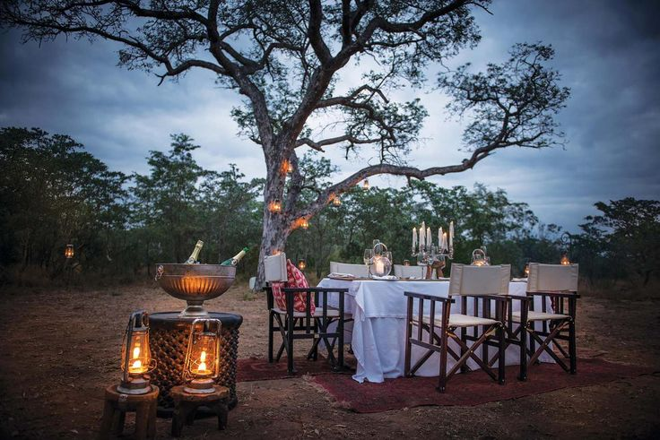 If you like to live on the edge, then you can enjoy a romantic dinner in the bush at Dulini Lodge in the Sabi Sand Game Reserve. Check out our website for more details: https://www.cedarberg-travel.com/accommodations/dulini-lodge