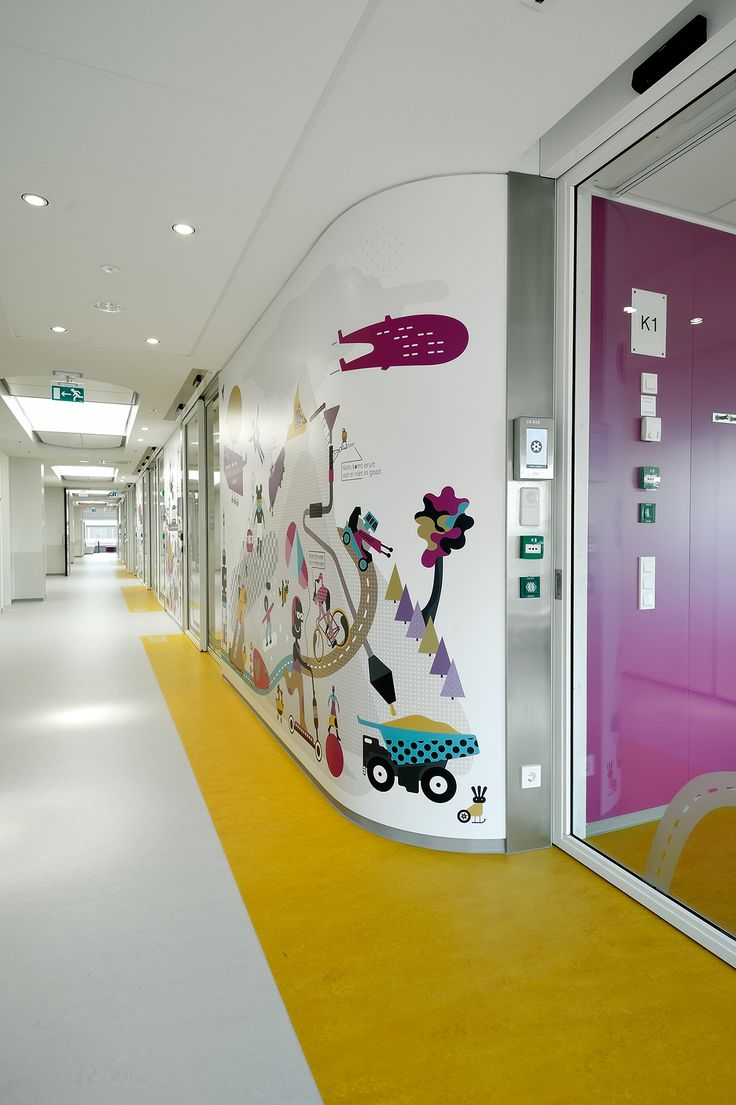 STANG - Emma Children's Hospital - Big Kids Department on Behance