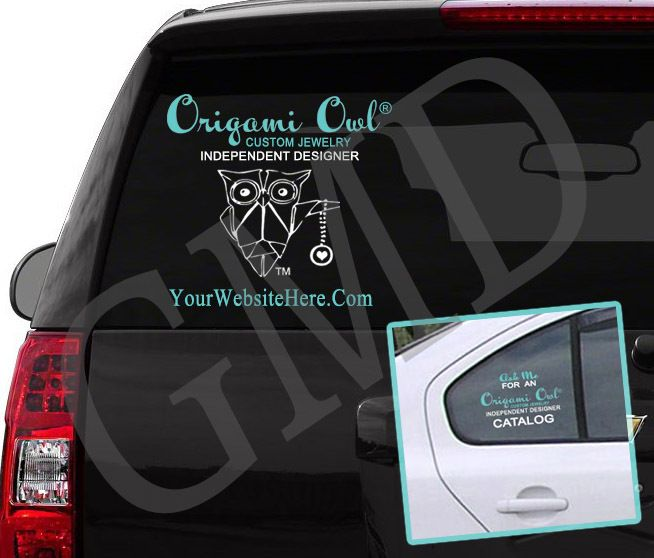 Best Origami Owl Items For Independent Designer Success Images - Owl custom vinyl decals for car