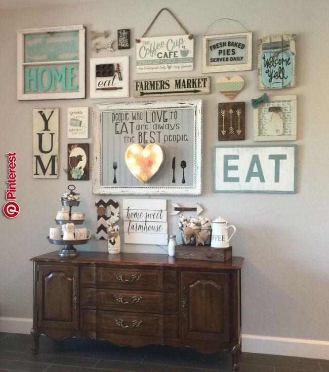 Küche Wanddekoration Ideen  Wanddekoration, Wanddeko wohnzimmer