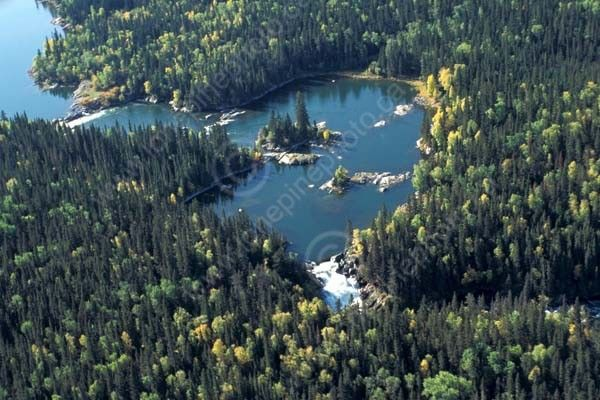 Nistowiak Falls,  La Ronge Provincial Park, Saskatchewan.   Where I come from!