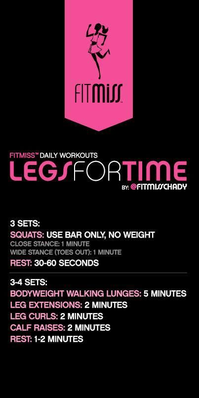 This Pin was discovered by Vanessa Wilson. Discover (and save!) your own Pins on Pinterest. | See more about leg workouts, legs and legs day.