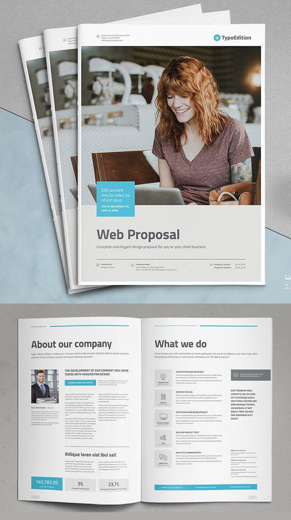 Professional Business Proposal Templates Design 23