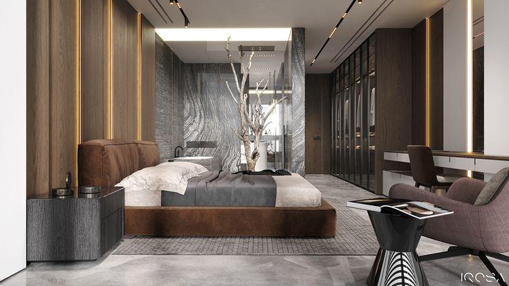 Brutal Apartment On Behance International Interior Design Bedroom Design Interior Design Studio