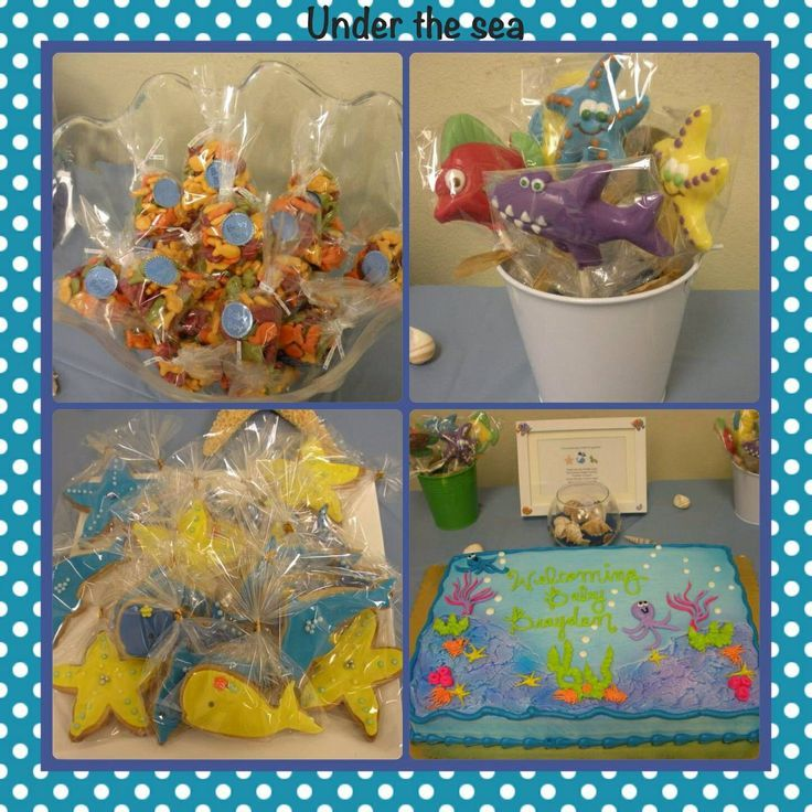 122 Best Under The Sea Theme Baby Shower Ideas Images On Pinterest    Birthday Ideas, Little Mermaids And Little Mermaid Cakes