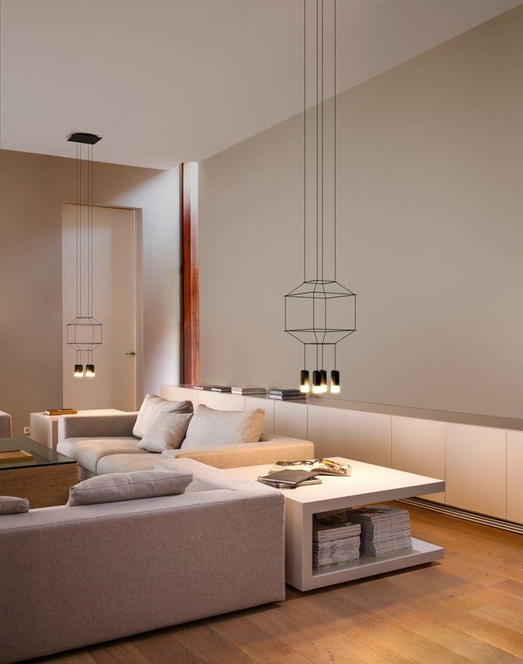 LED pendant lamp WIREFLOW by Vibia | design Arik Levy