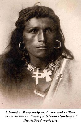 Guts and Grease: The Diet of Native Americans. Written by Sally Fallon Morell and Mary Enig. Navajo with magnificent bone structure.