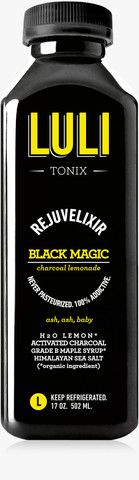 BLACK MAGIC: ACTIVATED CHARCOAL ELIXIR.