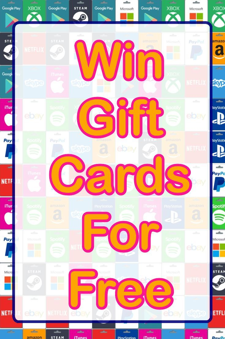 16 best Free Gift Cards images on Pinterest | Free gift cards ...