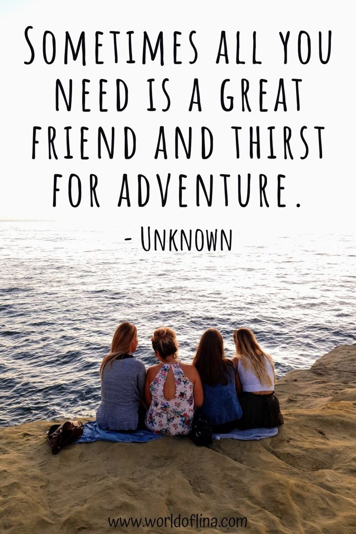 45 Best Travel With Friends Quotes Captions In 2021 Travel With Friends Quotes Travel Buddy Quotes Girl Trip Quotes