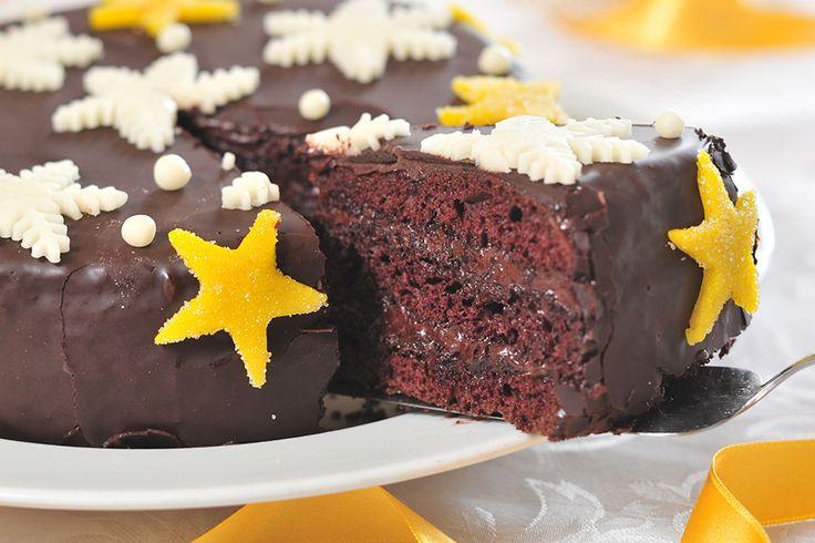 Karácsonyi csokoládétorta