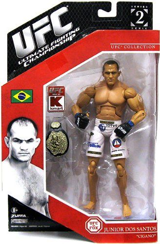 "UFC Series 2: Junior Dos Santos ""Cigano"" Jakks Pacific Exclusive"