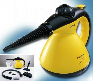 Limpiador de vapor - Solac H011 1200W de potencia, 15min de autonomía, Múltiples accesorios - Mediamarkt.es