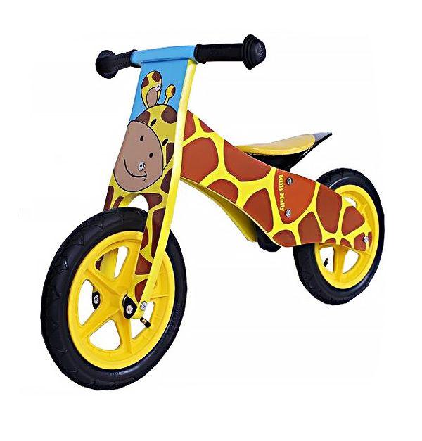 Drewniany rowerek od Milly Mally. Dla ceniących trwałość i jakość.  #rowerki #supermisiopl