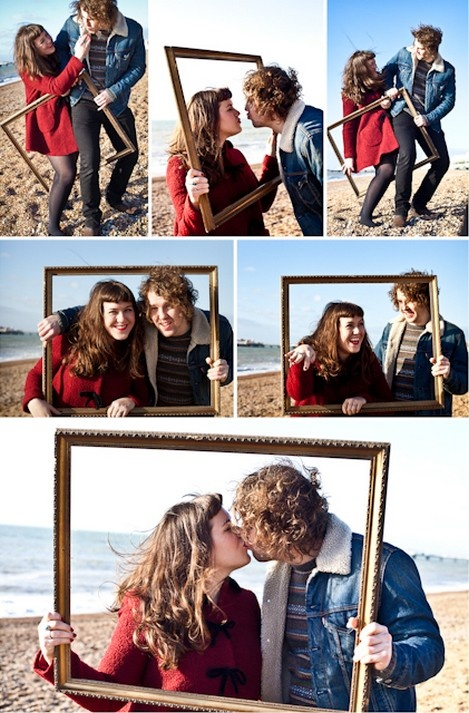 Carly and Ralph's Fun and Retro Inspired Brighton Pre Wed Shoot by Brighton Photo