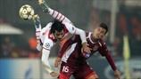 Custódio (SC Braga) & Rafael Bastos (CFR 1907 Cluj) | Cluj 3-1 Braga. 20.11.12.