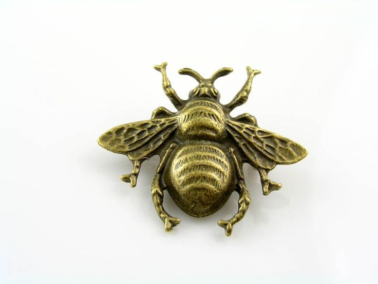 Bee Brooch, Cute Pin, Bug Brooch, Gift Idea, Handmade Brooch, Lapel Pin, Pin Badge, Bee Pin, Bee Jewelry, Bug Jewelry, Large Bee Brooch by ClassicMinimalist on Etsy