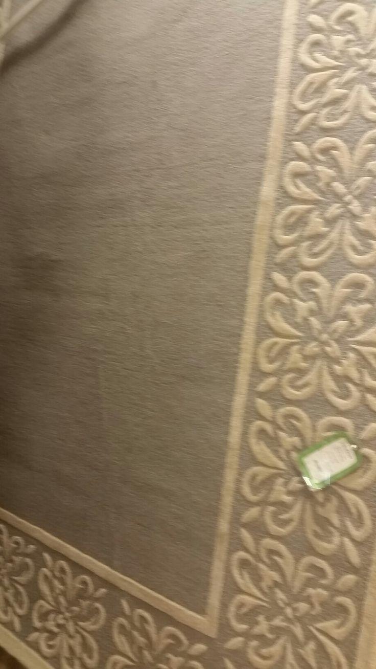 Gray/cream area rug option HomeGoods Bee Caves