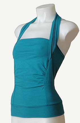 great to have at the hospital!!!.... I can easily see altering a t-shirt for this, sew on extra t-shirt material to front and then cut out the inside where baby sits, add halter. Great for skin to skin!
