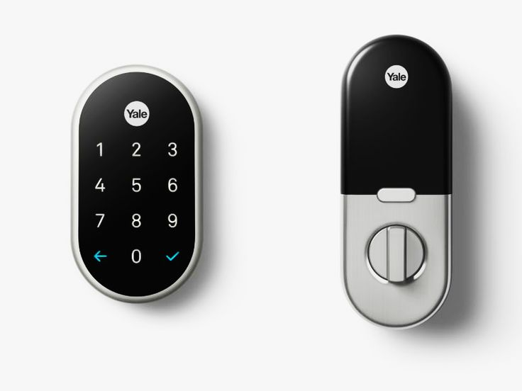 Nest Gets Into the Smart-Lock Game by Going Old School | | Credit: Yale | From WIRED.com