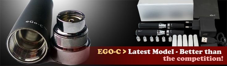 EGO-C - Better than the competition! Exclusively from http://www.absolutelyecigs.com