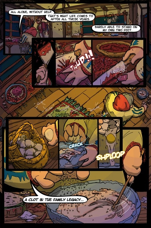 Inquest of Missing Time Vol 1  Page 1