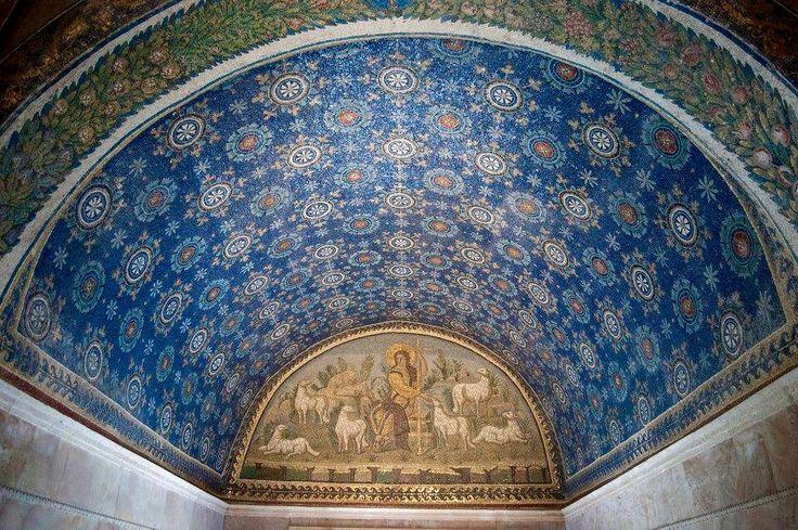 Ravenna. Mausoleum of Galla Placidia