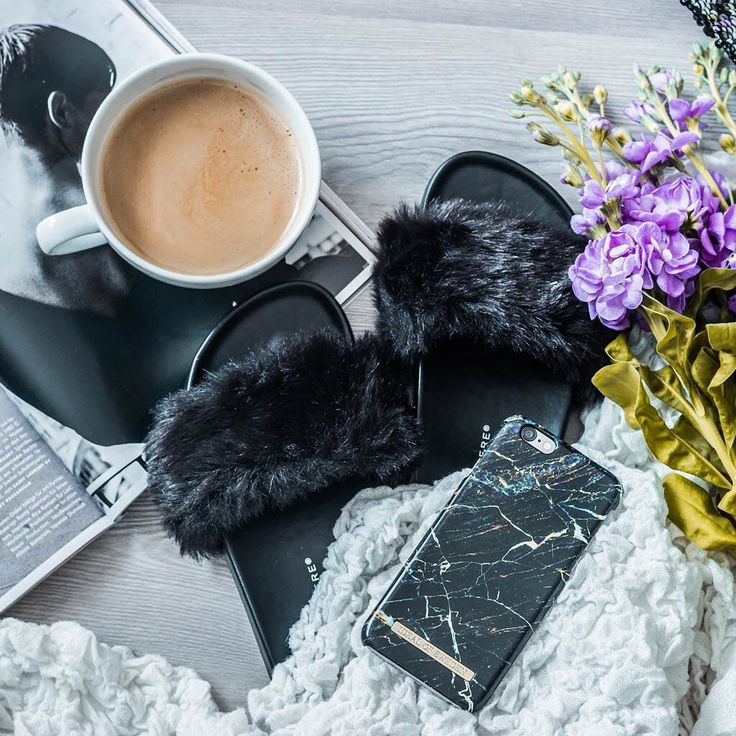 Port Laurent Marble by lovely @juliesdresscode - Fashion case phone cases iphone inspiration iDeal of Sweden #marble #black #blue #gold #fashion #inspo #iphone #marmor