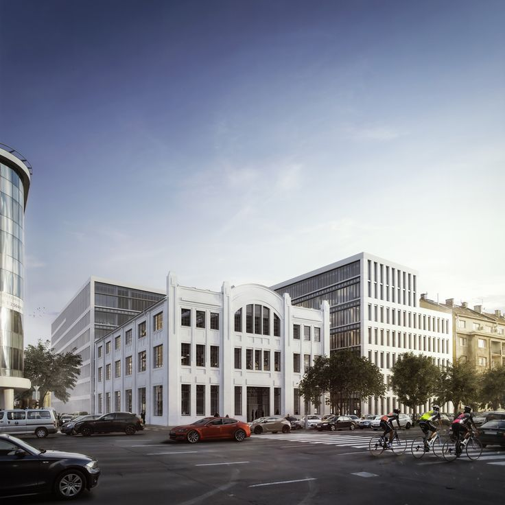 GTC White House, LEED Gold office development in Budapest, Design by Tima Zoltán Studio, KÖZTI ZRT, Rendering: AXION visual. Follow us on facebook: https://www.facebook.com/axionvisual Follow us on twitter: https://twitter.com/axionvisual