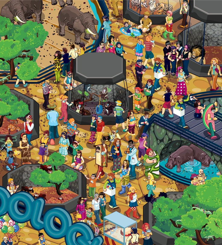 praatplaat dierentuin.