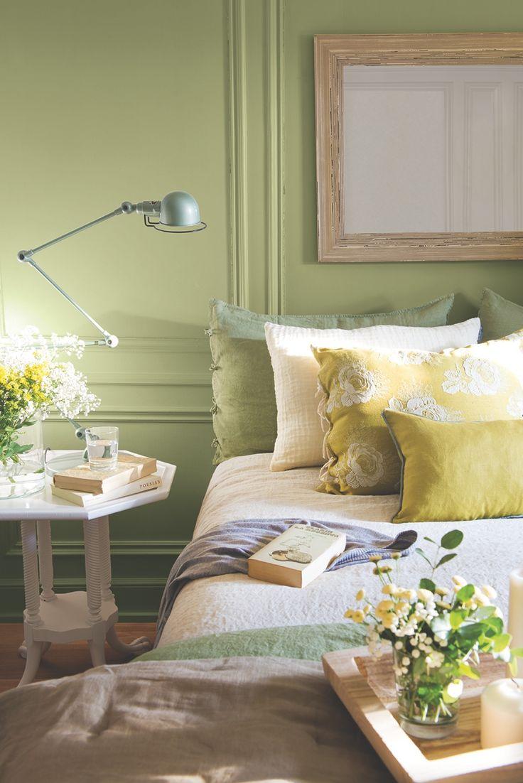 Las 25 mejores ideas sobre cojines verdes en pinterest - Cojines para dormitorio ...