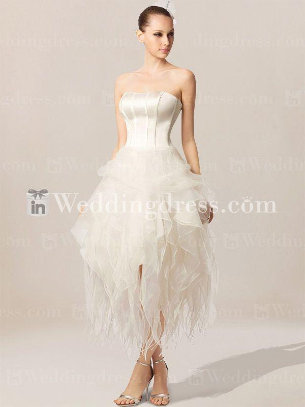 Informal short summer wedding dresses