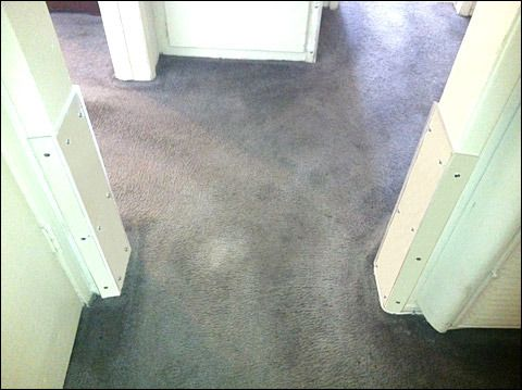 #Wheelchair Wall .  This is a great idea.  Our door frames are pretty beat up!