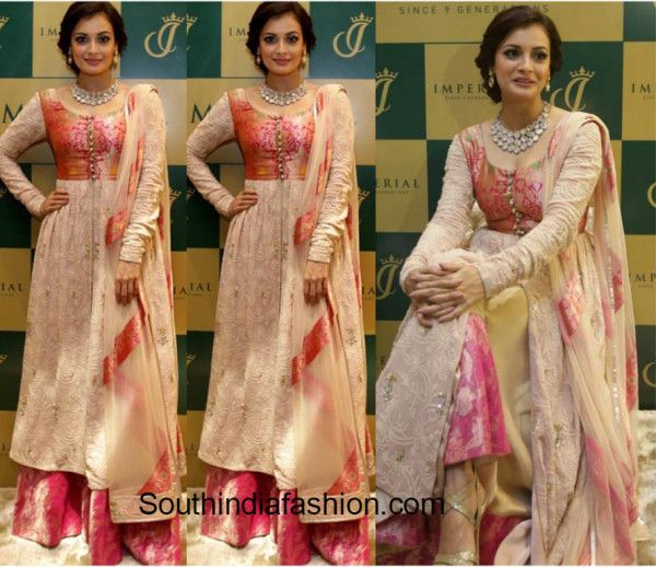 Dia Mirza In Sheila Khan at Imperial Jewellers launch